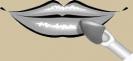 Наносить блеск непосредственно на губы вдоль их естественного контура.
